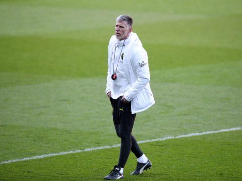 Czech Republic head coach Jaroslav Silhavy (Nick Potts/PA)