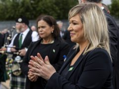 Sinn Fein will nominate Michelle O'Neill as deputy First Minister at Stormont after party president Mary Lou McDonald said she received a commitment from the UK Government to legislate for Irish language protections at Westminster (Liam McBurney/PA)