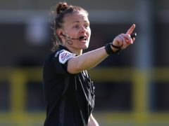 Rebecca Welch has been appointed to the EFL's national group list of referees (Nigel French/PA)