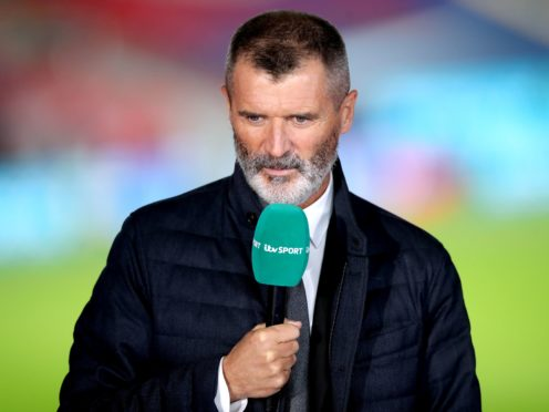 Roy Keane's jumper came in for stick from Ian Wright (Nick Potts/PA)
