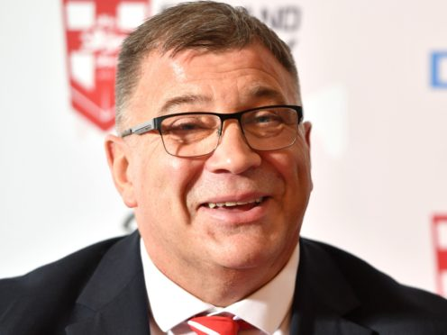Shaun Wane is set for his first game in charge of England (Anthony Devlin/PA)