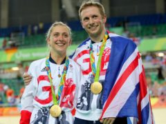 Laura and Jason Kenny are bidding for more golden Olympic moments (David Davies/PA)