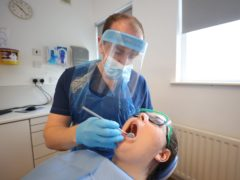 The Scottish Government said it is discussing additional financial support for dentists (Liam McBurney/PA)