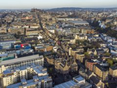 There have been concerns about the growth of short-term lets in Edinburgh (Jane Barlow/PA)