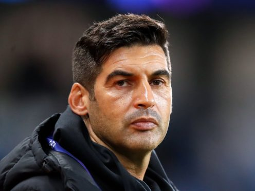 Spurs have called off talks with Paulo Fonseca with an appointment close (Martin Rickett/PA)