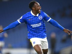 Danny Welbeck enjoy a fine debut campaign at Brighton (Mike Hewitt/PA)