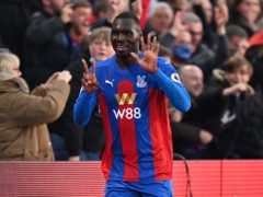 Christian Benteke has been with Crystal Palace for five years (Justin Setterfield/PA)