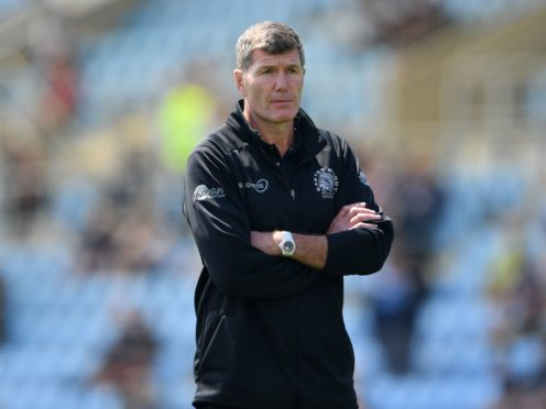 Exeter rugby director Rob Baxter