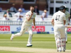 Mark Wood took three wickets on the second morning (Adam Davy/PA)
