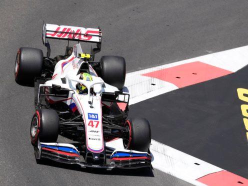 Mick Schumacher took aim at Haas team-mate Nikita Mazepin (Darko Vojinovic/AP)