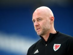 Wales coach Rob Page is preparing for Switzerland (Nick Potts/PA)