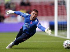 Sam Johnstone impressed for England on Sunday (Lee Smith/PA)