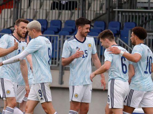 Che Adams scored Scotland's winner against Luxembourg (Olivier Matthys/AP)
