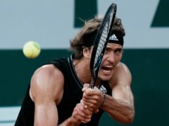 Germany's Alexander Zverev impressed again at Roland Garros (Thibault Camus/AP Photo)