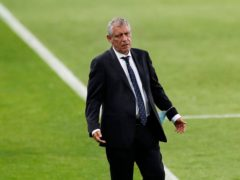 Portugal coach Fernando Santos was satisfied with the 3-0 win over Hungary despite leaving it late to score (Armando Franca/AP)