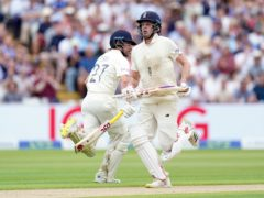 England's Rory Burns (left) and Dom Sibley were unbeaten at lunch (Mike Egerton/PA)
