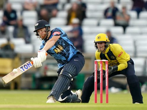 Jonny Bairstow was in fine form for Yorkshire, but suffered an ankle injury (Tim Goode/PA)