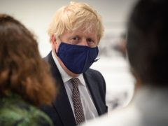 Boris Johnson said 'to truly defeat coronavirus and recover we need to prevent a pandemic like this from ever happening again' (Leon Neal/PA)