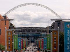 Wembley Stadium (Steve Paston/PA)