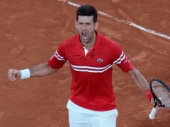 Novak Djokovic is looking to finish the job in the final after defeating Rafael Nadal (Christophe Ena/AP)