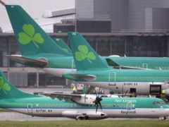 Aer Lingus has announced that a number of regional flights have been cancelled after operator Stobart Air ended its contract with the Irish airline (Niall Carson/PA)