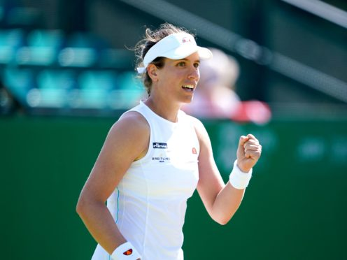 Johanna Konta has lost two previous finals at the Nottingham Open (Zac Goodwin/PA)