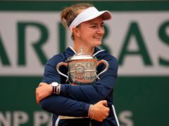 Barbora Krejcikova will climb to 15th in the world rankings (Michel Euler/AP)