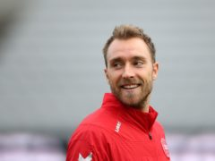 Denmark's Christian Eriksen is being treated in hospital (Tim Goode/PA)
