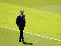Gareth Southgate has named his side (Martin Rickett/PA)