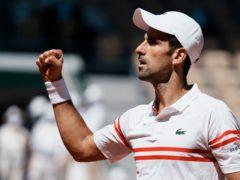 Novak Djokovic claimed a 19th slam title in Paris (Thibault Camus/AP)