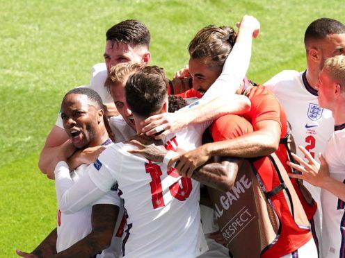 Raheem Sterling (left) netted England's winner against Croatia (Martin Rickett/PA)