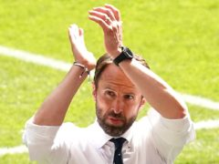 England manager Gareth Southgate turned his attentions to Scotland after the win over Croatia (Martin Rickett/PA)