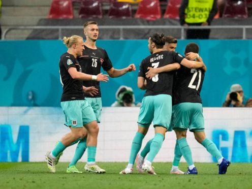 Austria claimed their first European Championship win (Vadim Ghirda/AP)