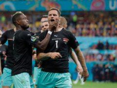 Austria forward Marko Arnautovic is facing a UEFA disciplinary investigation (Robert Ghement/AP)