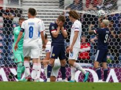 Scotland suffered a 2-0 defeat to the Czech Republic in their Euro 2020 opener (Andrew Milligan/PA)
