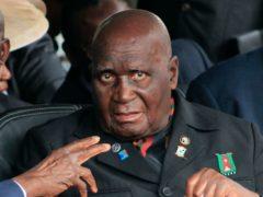 Kenneth Kaunda was the first president of Zambia (Moses Mwape/AP)