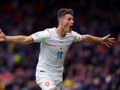 Patrik Schick has been a key player for the Czech Republic (Andrew Milligan/PA)