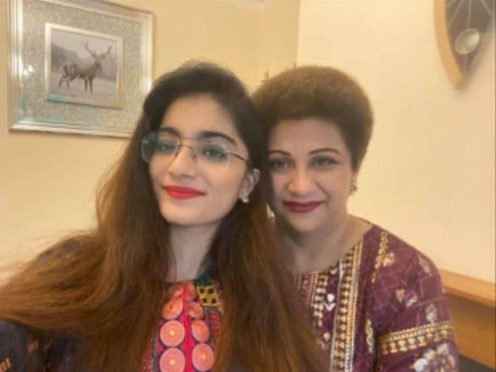 The bodies of Dr Saman Mir Sacharvi, 49, and her daughter, Vian Mangrio, 14, were found at their home in Burnley last October (Lancashire Police/PA)