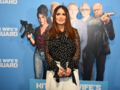 Salma Hayek rubbed shoulders with reality TV stars while promoting her latest film (Kirsty O'Connor/PA)