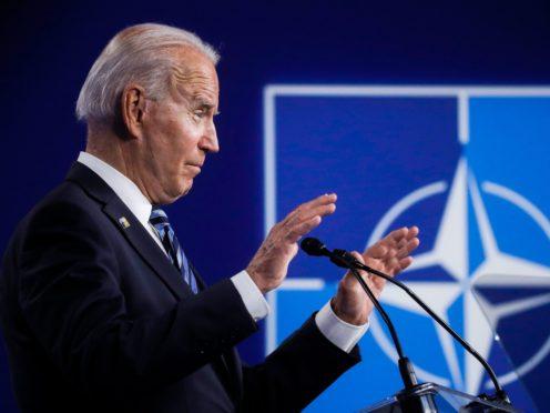 U.S. President Joe Biden (Olivier Hoslet/AP)