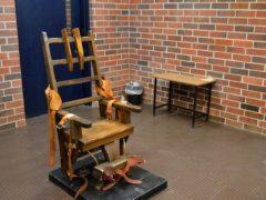 South Carolina's electric chair in Columbia (Kinard Lisbon/AP)