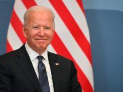 US President Joe Biden is in Switzerland to meet his Russian counterpart, Vladimir Putin (Fabrice Coffrini/AP)