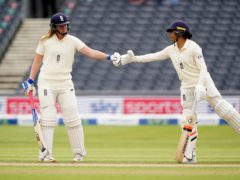 Sophia Dunkley, right, impressed for England (Zac Goodwin/PA)