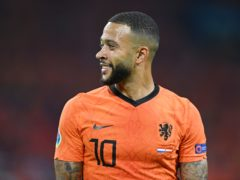 Memphis Depay joined Barcelona on Saturday but has been criticised for his Euro 2020 performances so far (John Tys/AP)