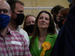Sarah Green overturned a huge Tory majority (Yui Mok/PA)