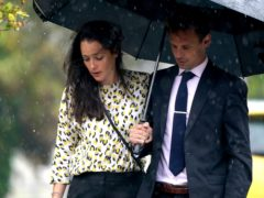 Sarah and Tom Richford arrive at Folkestone Magistrates' Court on Friday (Gareth Fuller/PA)