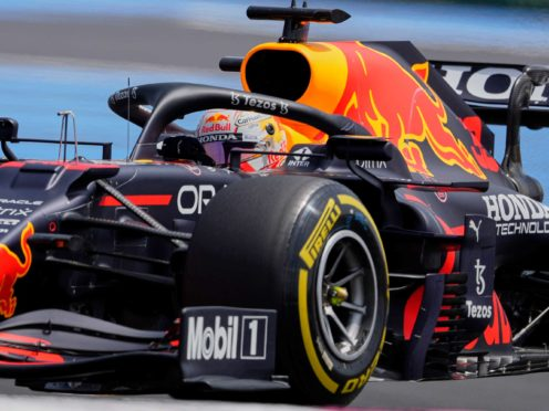 Max Verstappen finished fastest in final practice for the French Grand Prix (Francois Mori/AP)