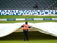 Rain brought an early halt to play on day three of England Women's Test match against India (Zac Goodwin/PA)