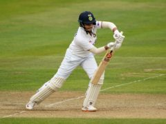 Shafali Verma led the way as India fought to stave off defeat (Zac Goodwin/PA)
