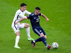 Billy Gilmour was named man of the match (Mike Egerton/PA)